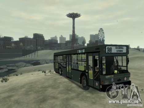 MAZ 103 Bus pour GTA 4 est une gauche