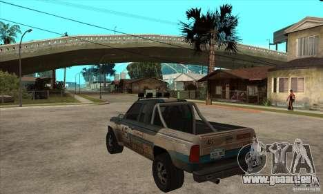 Nevada from FlatOut 2 für GTA San Andreas zurück linke Ansicht