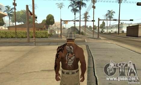 Tatu CJ für GTA San Andreas dritten Screenshot