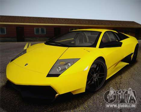 Lamborghini Murcielago LP 670/4 SV Fixed Version für GTA San Andreas