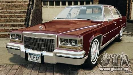 Cadillac Fleetwood Brougham Delegance 1986 pour GTA 4