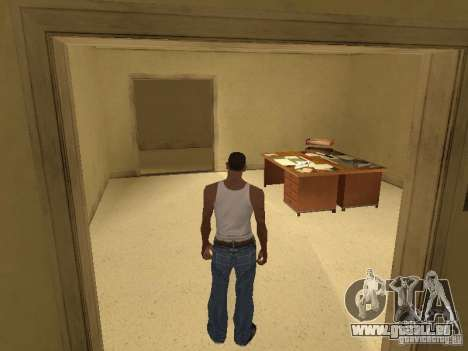 Der Eingang zum Krankenhaus von Los Santos für GTA San Andreas her Screenshot