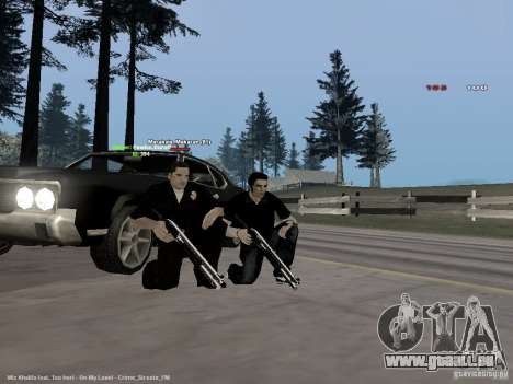 Black & White guns für GTA San Andreas dritten Screenshot