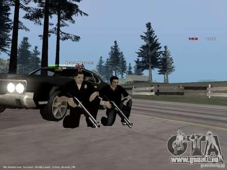 Black & White guns für GTA San Andreas dritten Screenshot