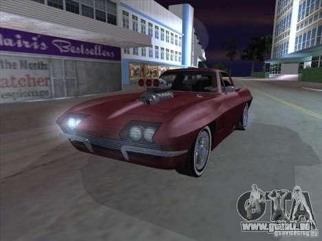 Chevrolet Corvette Big Muscle pour GTA San Andreas