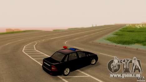 LADA 2170 Polizei für GTA San Andreas linke Ansicht