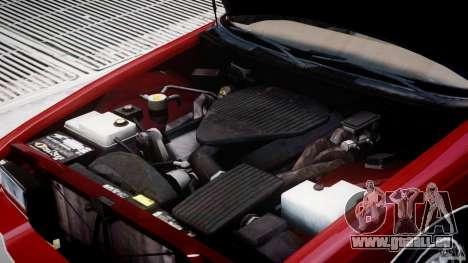 Buick Roadmaster Sedan 1996 v 2.0 pour GTA 4 est un côté