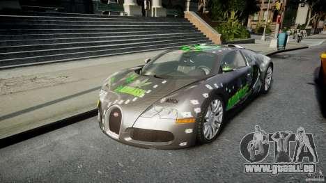 Bugatti Veyron 16.4 v1.0 new skin pour GTA 4