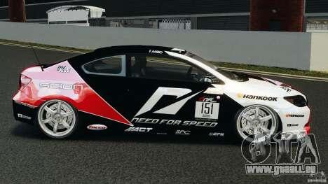 Scion TC Fredric Aasbo Team NFS für GTA 4 linke Ansicht
