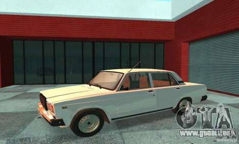 VAZ 2107 v. 3 für GTA San Andreas linke Ansicht