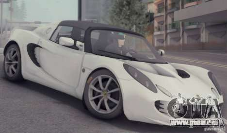 Lotus Elise 111s 2005 v1.0 für GTA San Andreas obere Ansicht