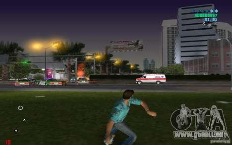 Munitions infinies GTA Vice City pour la troisième écran
