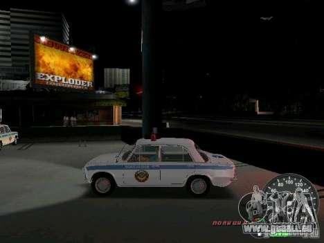 VAZ 2101 Police pour une vue GTA Vice City de la gauche