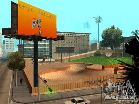 New SkatePark v2 pour GTA San Andreas onzième écran
