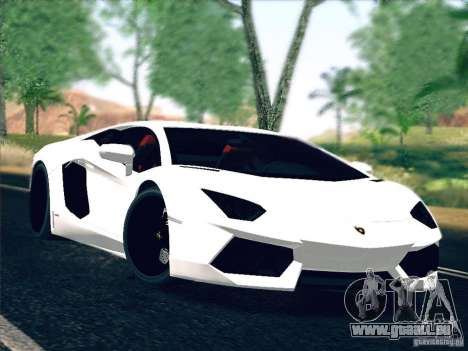 Lamborghini Aventador LP700-4 2011 V1.0 pour GTA San Andreas
