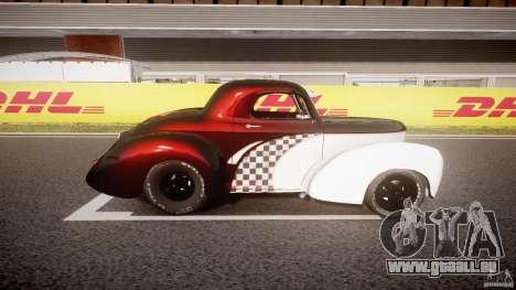 Willys Americar 1941 für GTA 4 linke Ansicht