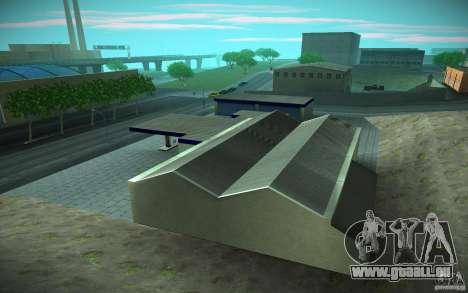 HD Garage in Doherty für GTA San Andreas her Screenshot