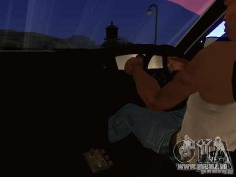 Toyota Chaser JZX100 Tuning by TCW für GTA San Andreas Innen