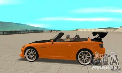 Honda Amuse R1 AP1 S2000 für GTA San Andreas linke Ansicht