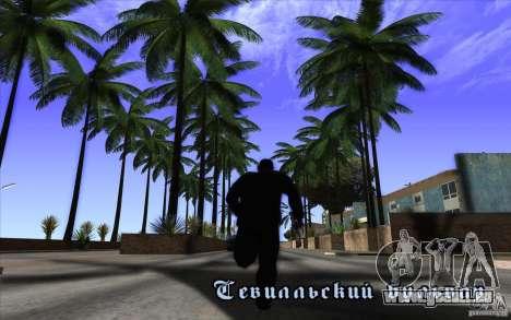 Behind Space Of Realities 2010 v1.0.0 Demo pour GTA San Andreas deuxième écran