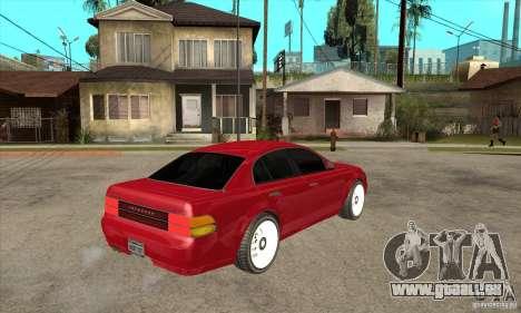 GTA IV Intruder pour GTA San Andreas vue de droite