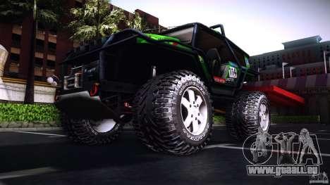 Tiger 4x4 für GTA San Andreas linke Ansicht