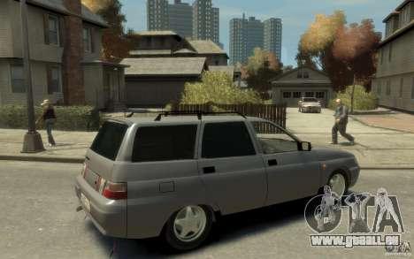 Lada ВАЗ 2111 pour GTA 4 est un droit
