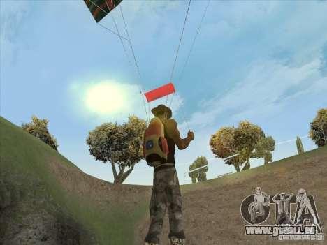 Beaux nuages et plus pour GTA San Andreas deuxième écran