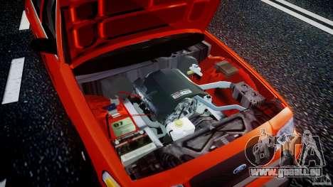 Ford Crown Victoria 2003 v.2 Taxi pour GTA 4 vue de dessus