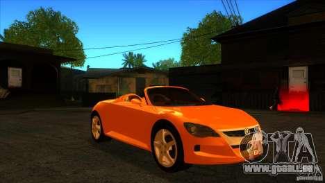 Volkswagen Concept R pour GTA San Andreas vue arrière