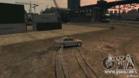 Toyota Chaser 2.5 Tourer V pour GTA 4 vue de dessus