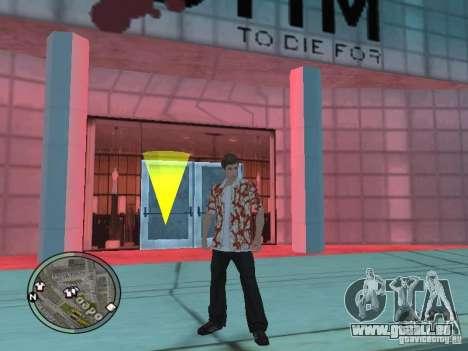 Tony Montana pour GTA San Andreas quatrième écran