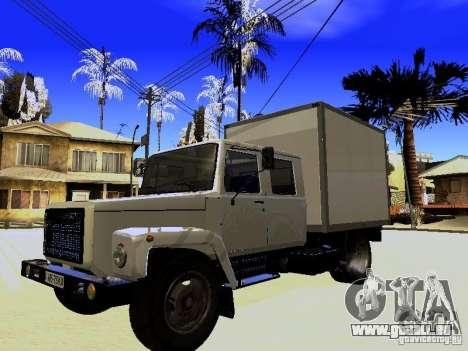 GAZ 3309 Jäger für GTA San Andreas Seitenansicht