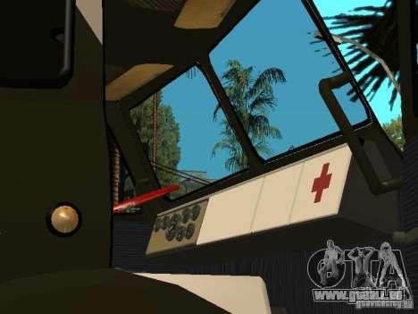 MAZ 515V für GTA San Andreas Rückansicht