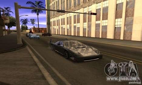 Sunshine ENB Series by Recaro pour GTA San Andreas troisième écran