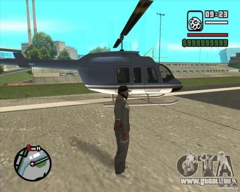 Pilote de l'emploi pour GTA San Andreas