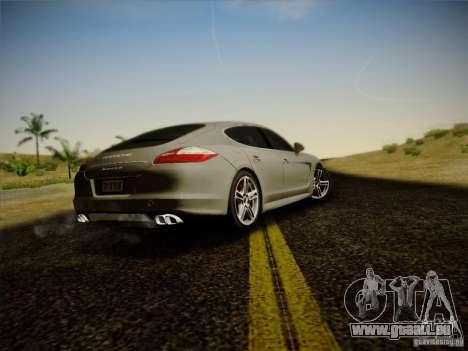Porsche Panamera Turbo 2010 für GTA San Andreas rechten Ansicht