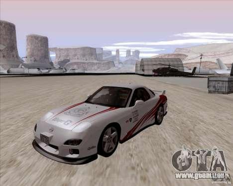 Mazda RX7 2002 FD3S SPIRIT-R (Type RS) für GTA San Andreas