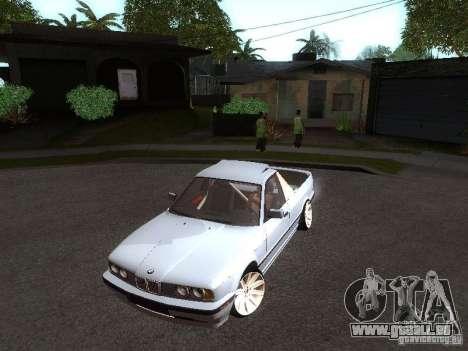BMW E34 Pickup für GTA San Andreas linke Ansicht