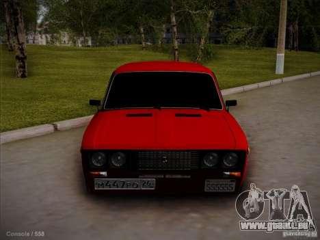 VAZ 2106 Piatigorsk pour GTA San Andreas laissé vue