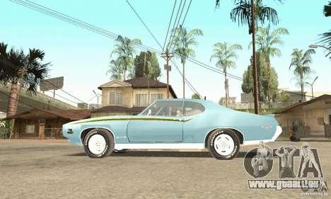 Pontiac GTO The Judge pour GTA San Andreas vue de droite