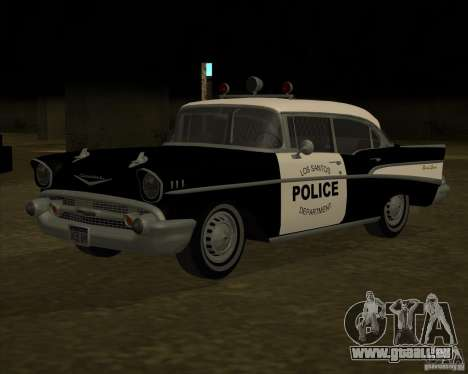 Chevrolet BelAir Police 1957 für GTA San Andreas