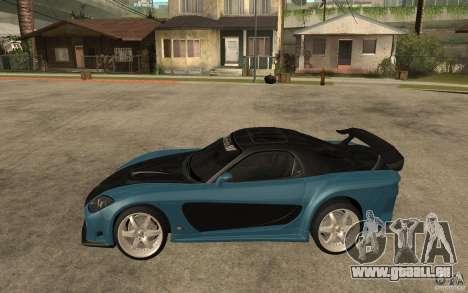 Mazda RX 7 VeilSide für GTA San Andreas Innenansicht