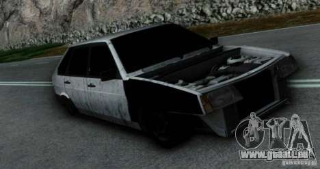Vaz 2109 Hobo pour GTA San Andreas