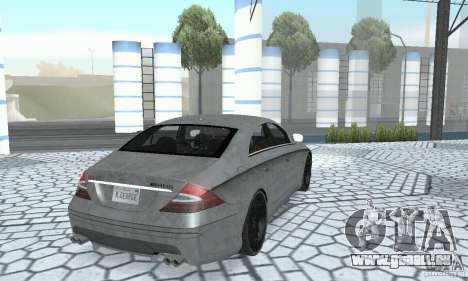 Mercedes-Benz CLS 63 AMG pour GTA San Andreas vue de côté