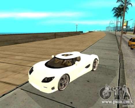 Koenigsegg CCRT für GTA San Andreas