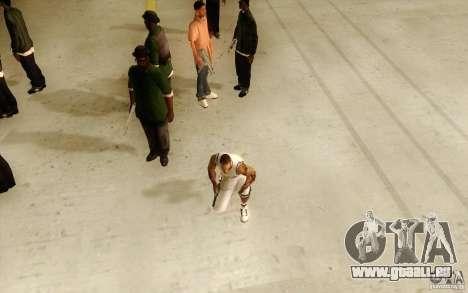 Sombras mais fortes em pedestres für GTA San Andreas zweiten Screenshot