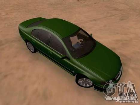 Ford Falcon Fairmont Ghia pour GTA San Andreas laissé vue