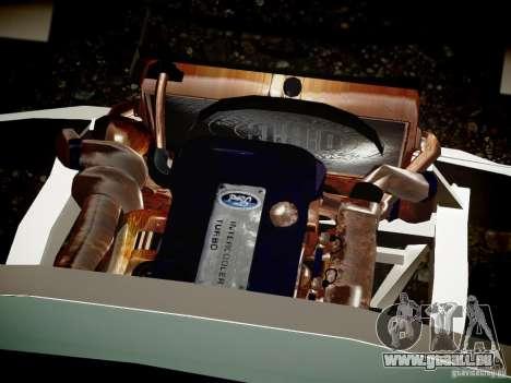 Ford F-650 Super Crewzer für GTA 4 Innenansicht