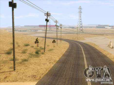 HQ Country Desert v1.3 pour GTA San Andreas neuvième écran